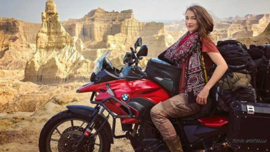 Photo of Motorcyclist Rosie Gabrielle explored every corner of Pakistan